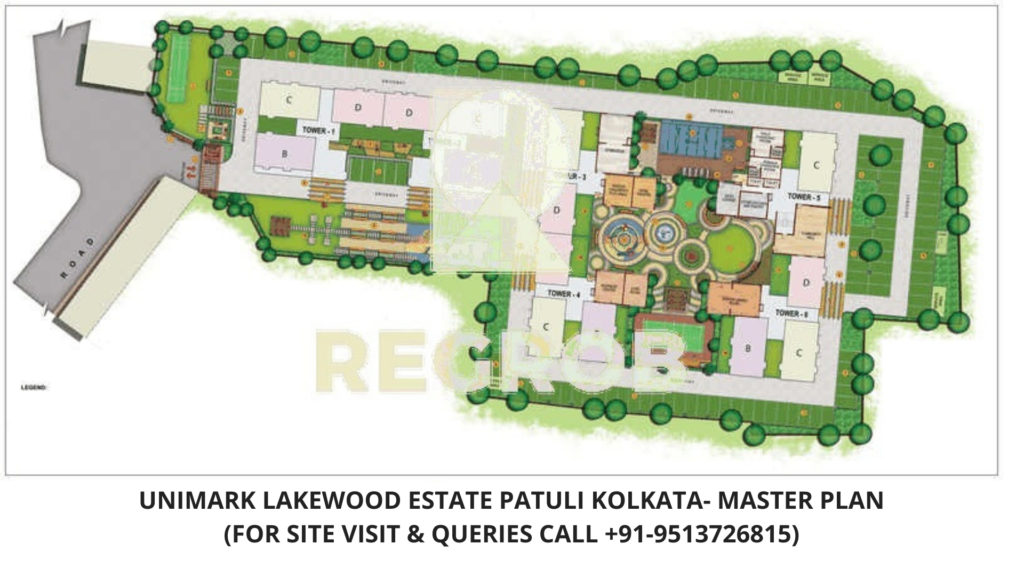 Unimark Lakewood Estate Patuli, Kolkata