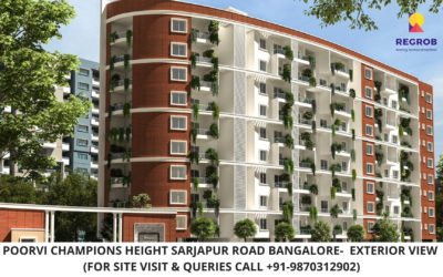 Poorvi Champions Height Sarjapur Road Bangalore