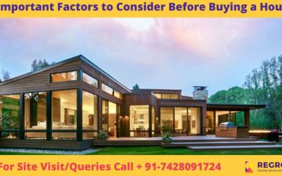 4 Important Factors One Should Consider Before Buying a House