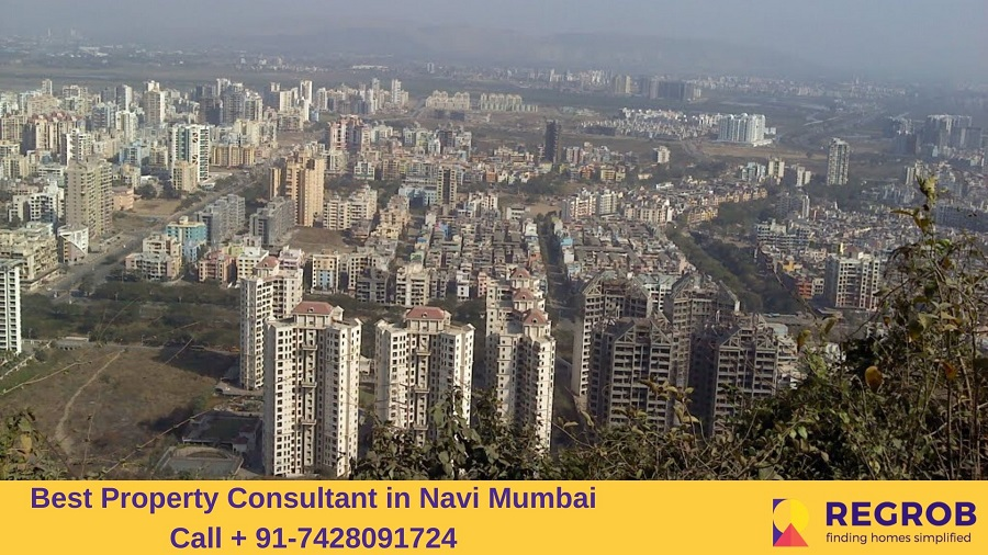 Aerial View of Kharghar