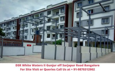 DSR White Waters II Gunjur off Sarjapur Road Bangalore