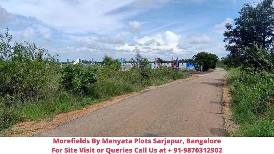 Morefields By Manyata Plots Sarjapur, Bangalore Actual View