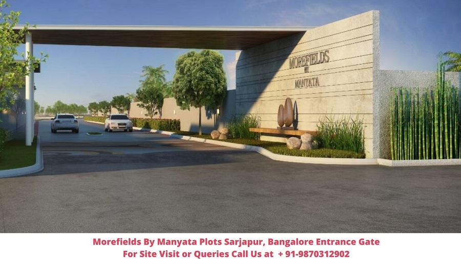 Morefields By Manyata Plots Sarjapur, Bangalore Entrance Road