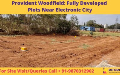 Provident Woodfield_ Fully Developed Plots Near Electronic City