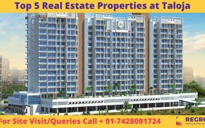 Top 5 Real Estate properties at Taloja, Navi Mumbai