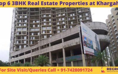 Top 6 3BHK Real Estate Properties at Khargahr
