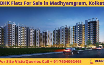 2 BHK Flats For Sale in Madhyamgram, Kolkata
