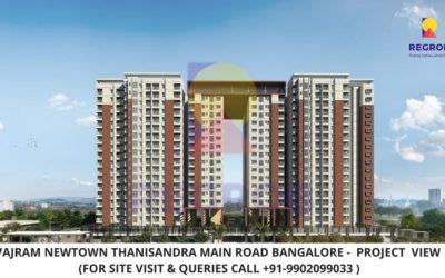 Vajram Newtown Thanisandra Main Road Bangalore