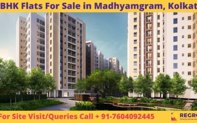 3 BHK Flats For Sale in Madhyamgram, Kolkata