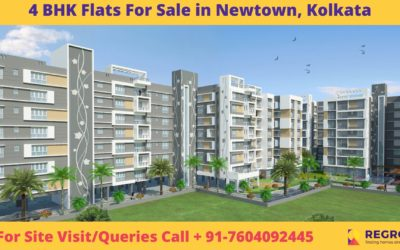 4 BHK Flats For Sale in Newtown, Kolkata