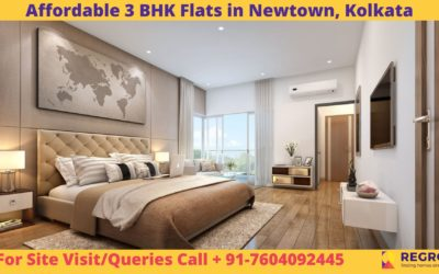 Affordable 3 BHK Flats in Newtown, Kolkata