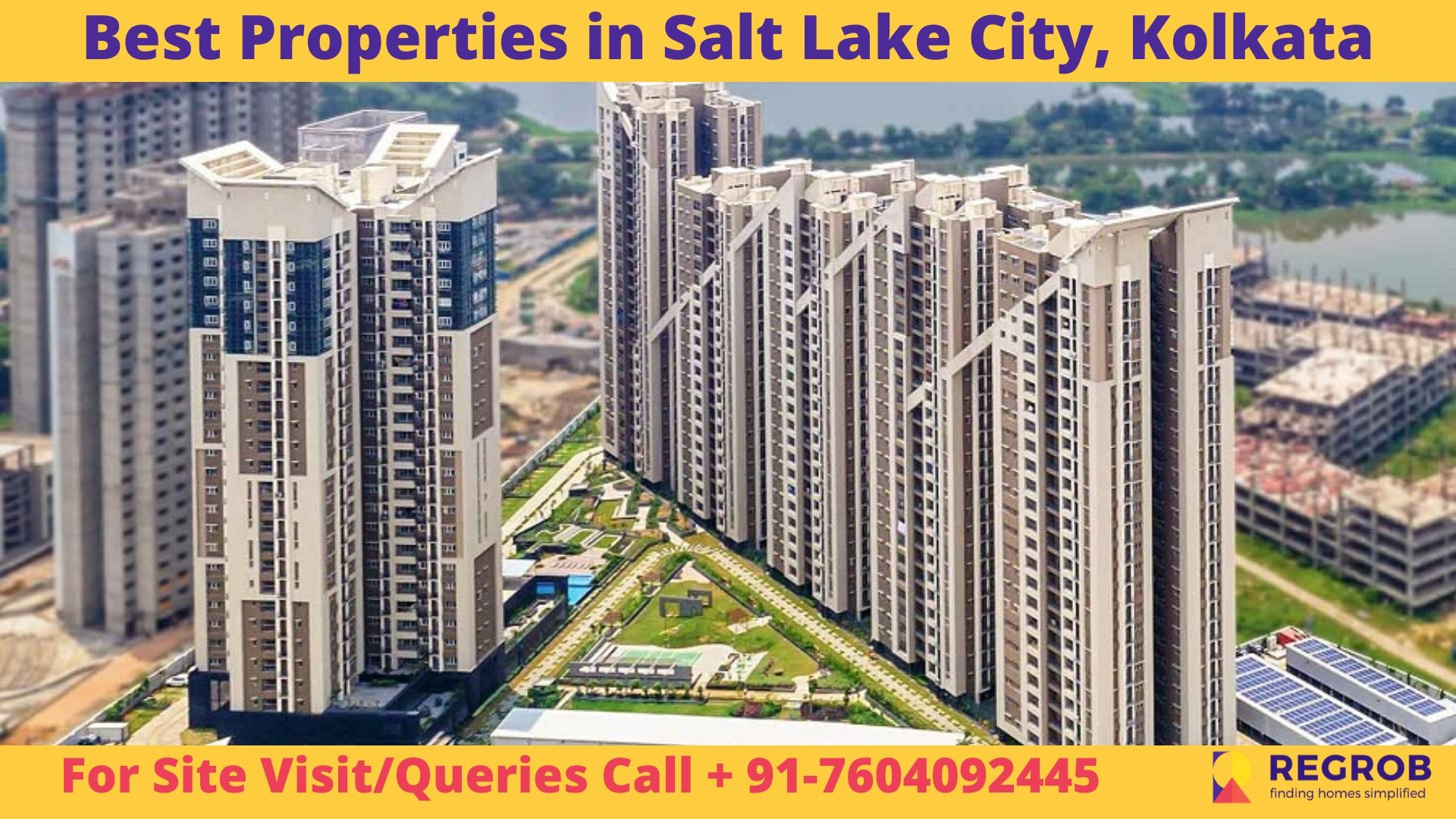 Best Properties in Salt Lake City, Kolkata