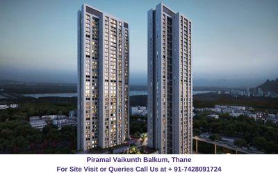 Piramal Vaikunth Balkum, Thane Elevated View