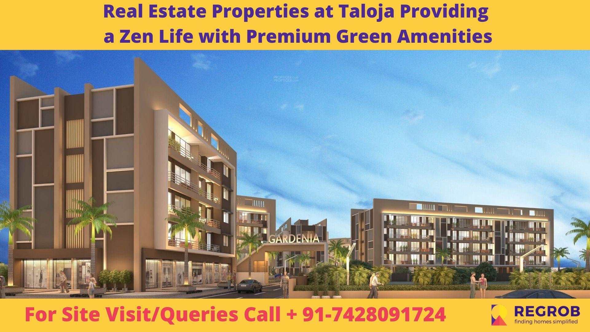 Real Estate Properties at Taloja Providing a Zen Life with Premium Green Amenities