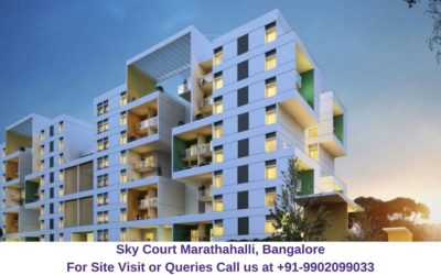 Sky Court Marathahalli, Bangalore Elevated View (2)