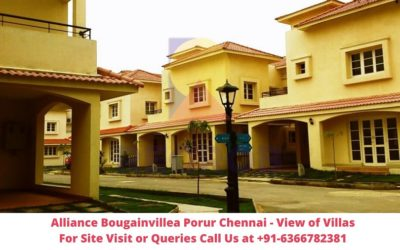 Alliance Bougainvillea Porur Chennai Exterior View of Villa
