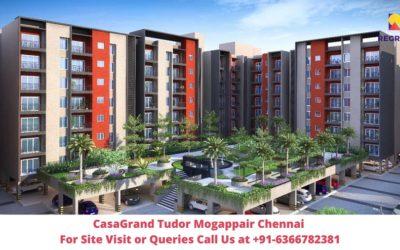 CasaGrand Tudor Mogappair Chennai Elevated View