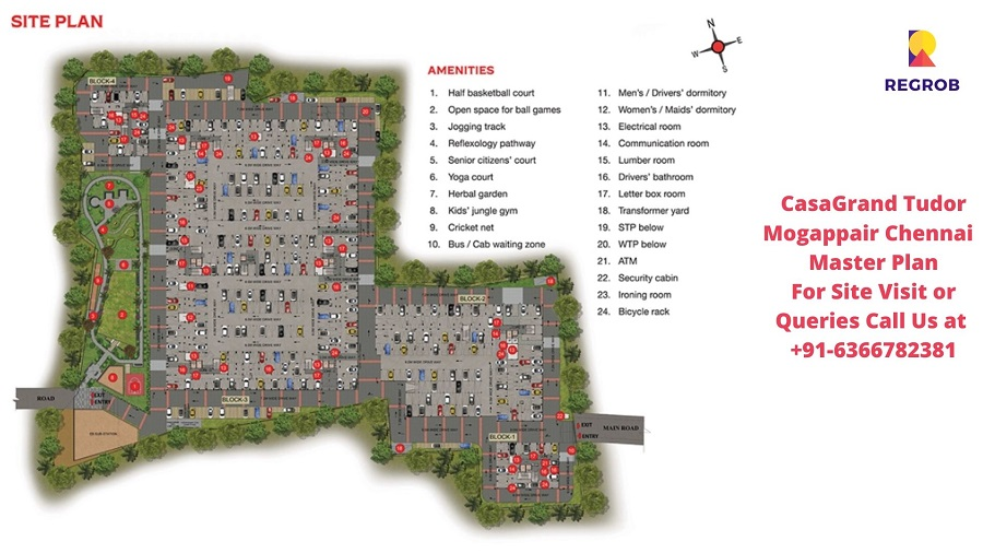 CasaGrand Tudor Mogappair Chennai Master Plan
