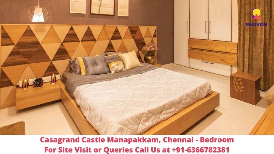 Casagrand Castle Manapakkam, Chennai Bedroom