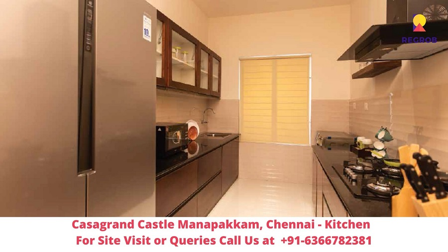 Casagrand Castle Manapakkam, Chennai Kitchen