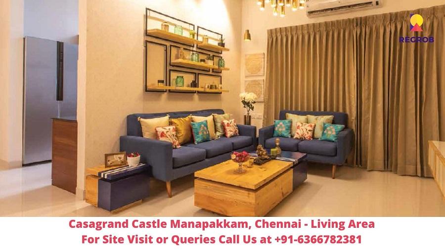 Casagrand Castle Manapakkam, Chennai Living Area