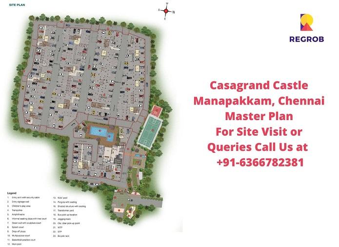 Casagrand Castle Manapakkam, Chennai Master Plan