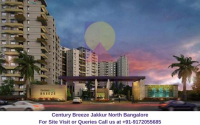 Century Breeze Jakkur North Bangalore Front View