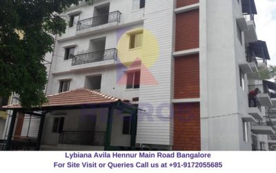 Lybiana Avila Hennur Main Road Bangalore Actual View (1)