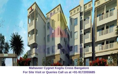 Mahaveer Cygnet Kogilu Cross Bangalore Elevated View