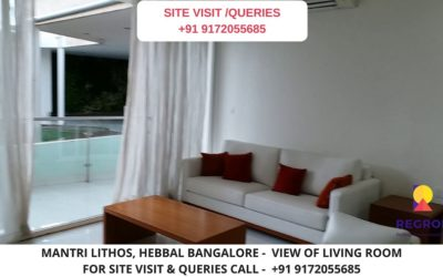 Mantri Lithos Living Area