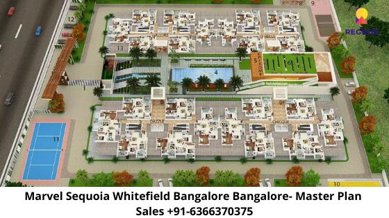 Marvel Sequoia Whitefield Bangalore Master Plan