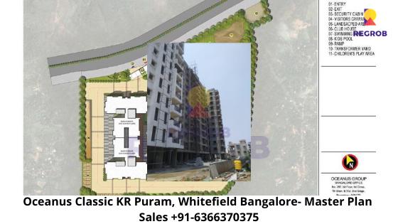 Oceanus Classic KR Puram Whitefield Bangalore  Master Plan