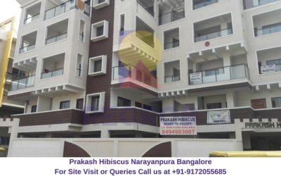 Prakash Hibiscus Narayanpura Bangalore Actual View
