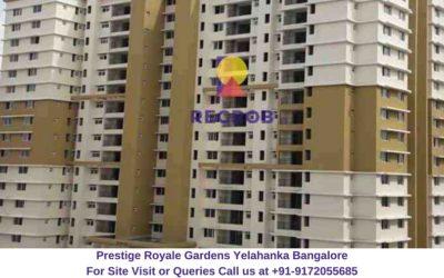Prestige Royale Gardens Yelahanka Bangalore Actual View