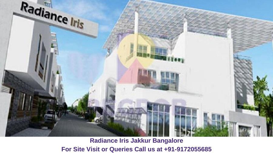 Radiance Iris Jakkur Bangalore
