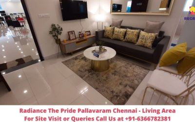 Radiance The Pride Pallavaram Chennai Living Area