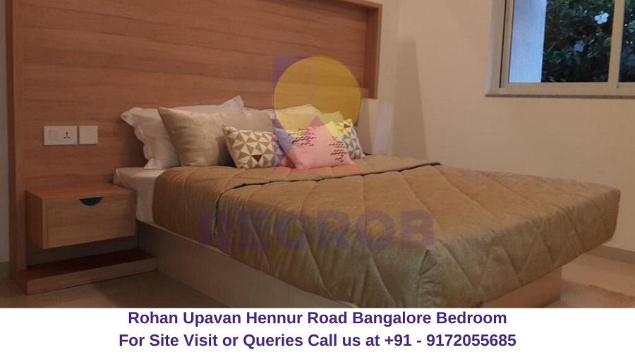 Rohan Upavan Hennur Road Bangalore Bedroom