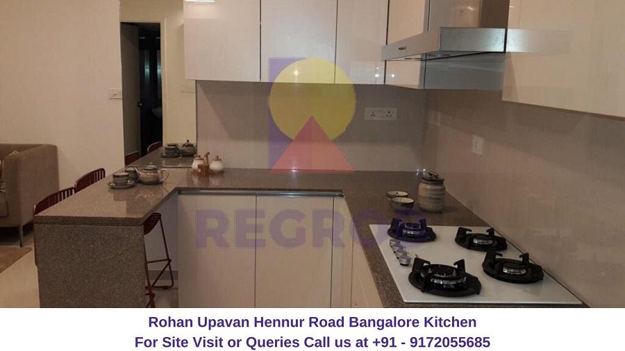 Rohan Upavan Hennur Road Bangalore Kitchen