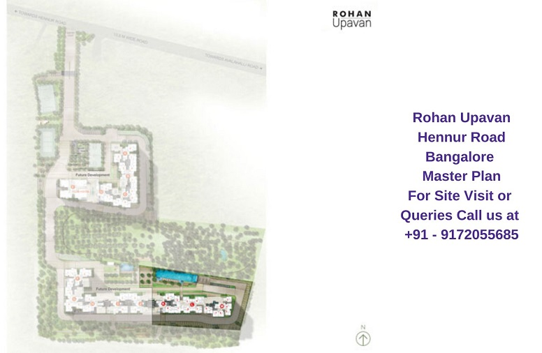 Rohan Upavan Hennur Road Bangalore Master Plan