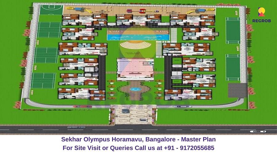 Sekhar Olympus Horamavu, Bangalore Master Plan