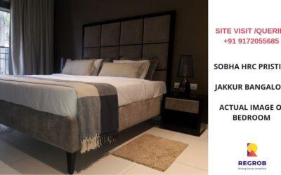 Sobha HRC Pristine Bedroom
