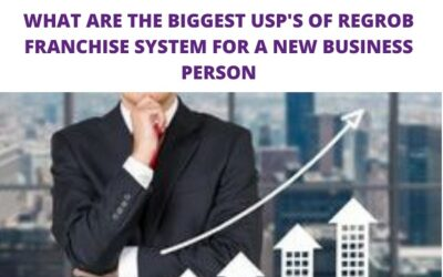 What are the Biggest USPs of Regrob Franchise System for a New Business Person