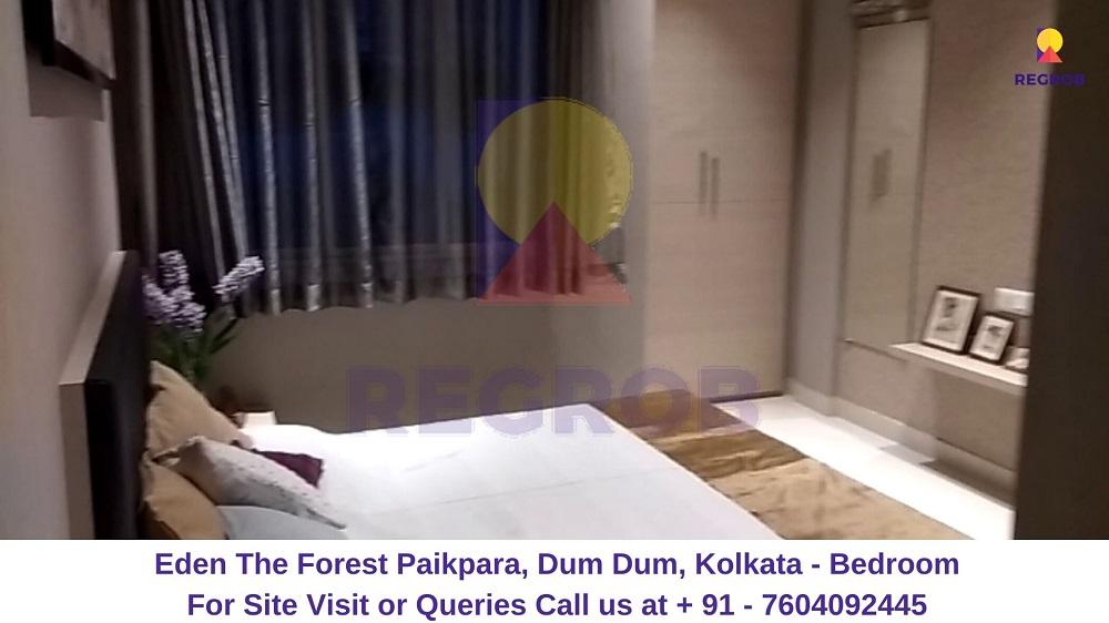 Eden The Forest Paikpara, Dum Dum, Kolkata Bedroom (1)