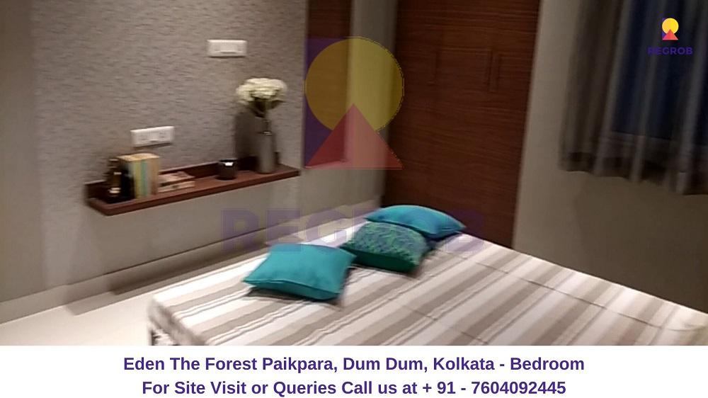 Eden The Forest Paikpara, Dum Dum, Kolkata Bedroom (2)
