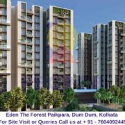 Eden The Forest Paikpara, Dum Dum, Kolkata Elevated View