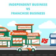 Independent business vs. Franchise Business
