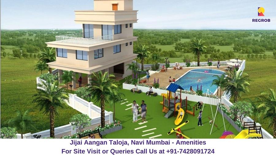 Jijai Aangan Taloja, Navi Mumbai Amenities