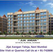 Jijai Aangan Taloja, Navi Mumbai Elevated View (2)
