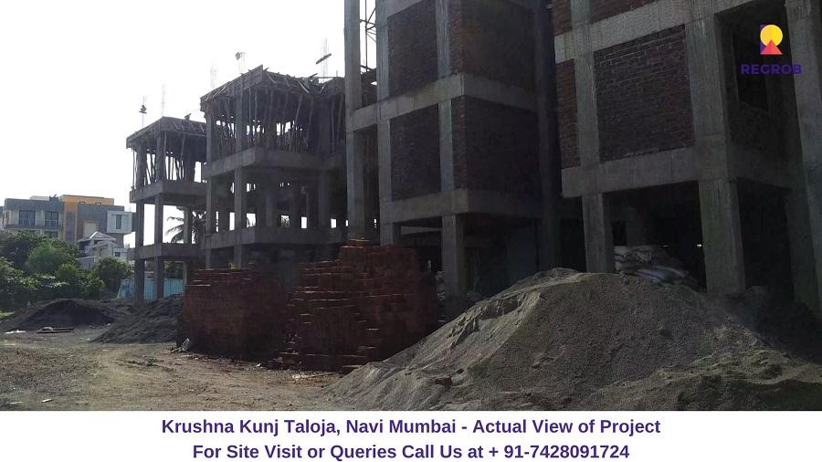 Krushna Kunj Taloja, Navi Mumbai Actual View of Tower (1)