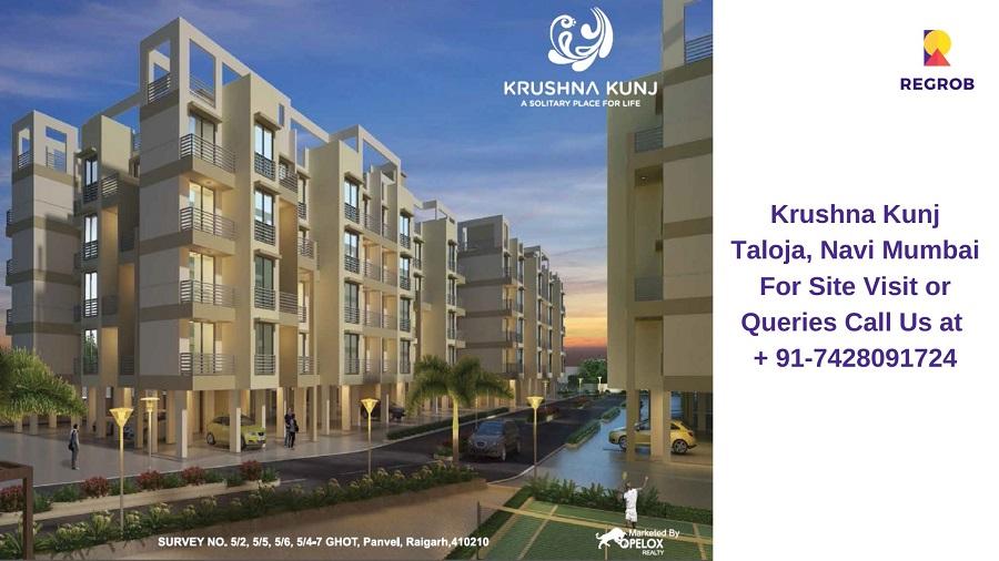 Krushna Kunj Taloja, Navi Mumbai Building View